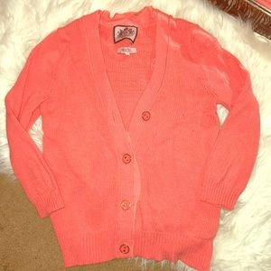 Salmon juicy couture sweater size XS